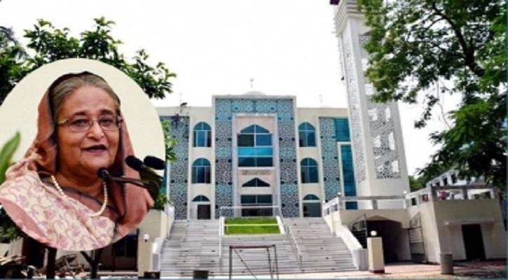 ৫০টি মডেল মসজিদ উদ্বোধন করলেন প্রধানমন্ত্রী শেখ হাসিনা