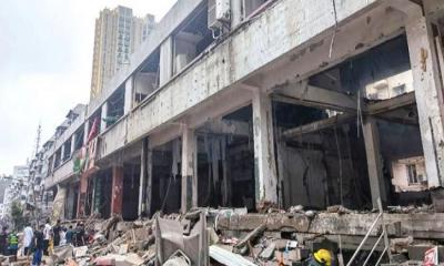 চীনে গ্যাস পাইপ বিস্ফোরণে ১১ জন নিহত