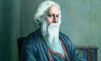 কবিগুরু রবীন্দ্রনাথ ঠাকুরের ১৬০তম জন্মবার্ষিকী আজ